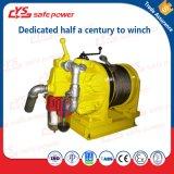 Argano dell'aria della strumentazione di sollevamento della miniera di alta qualità con protetto contro le esplosioni
