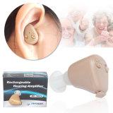Prótesis de oído recargable sorda del auricular de Ite del equipamiento médico Jh905