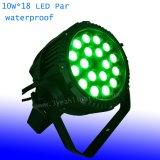 5in1 18 15W het LEIDENE RGBWA Licht van het PARI