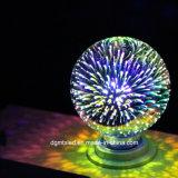 Venda a quente lâmpada laser 3D G125 amarelo/golden