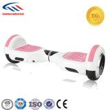 La cubierta plástica vaga la vespa rosada Hoverboard de Bluetooth con Bluetooth