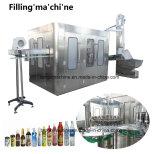 Frasco Pet automática máquina de enchimento de bebidas de suco de frutas