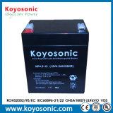 Bateria acidificada ao chumbo selada VRLA 6V 3.5ah para o UPS