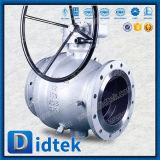 Válvula de esfera macia do eixo da selagem do PC da polegada 2 do cofre forte 12 do incêndio de Didtek