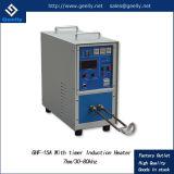 Máquina que cubre con bronce de alta frecuencia de calidad superior de la soldadura de inducción 6kw