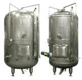 O tanque de aço inoxidável de depósito de fermentação do tanque de armazenagem do depósito de líquido