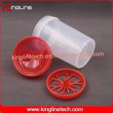 350mlプラスチックフィルター(KL-7048)が付いている小型シェーカーのびん