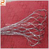 Tejidas a Mano 304 cuerdas de acero inoxidable malla Mesh decorativo