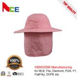 屋外の余暇の蚊帳が付いている紫外線保護綿の漁師のバケツの帽子