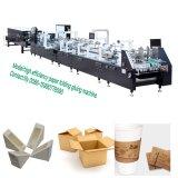 boîte en carton<br/> Corrugater entièrement automatique de faire de la ligne de la machine en Chine (GK-1100GS)