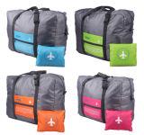 Vouwbare Duffel van Oxford van de douane Embleem Afgedrukte Handtassen voor het Reizen