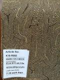 Cuoio dorato del tessuto del sughero naturale di disegno del reticolo per la decorazione dei sacchetti dei pattini (K18-08)
