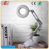 Livre de remplissage sec de agrandissement d'éclairage LED du relevé de lampe de bureau blanc d'ABS de Dimmable