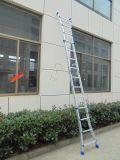Encurtando a escada de extensão, escada de dobradura de alumínio com En131, Asnzs