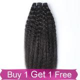 Cabelo natural do Malaysian do Virgin de Dyeable do cabelo humano