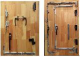 Portello & finestra del Alluminio-Legno Bi-Fold con il doppio vetro temperato