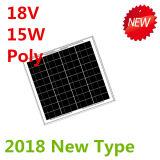 poli comitato solare di 18V 15W per 12V il sistema (2018)