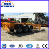 3 de Semi Aanhangwagen van het Vervoer van de Container van assen op Bevordering