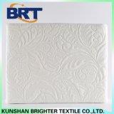 La capa de aire de Jacquard de color blanco Funda de colchón impermeable