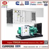 800kw/1000kVA Cummins Engineの無声容器のディーゼル発電機セット(16-1250kw)