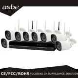 8CH IP van de Uitrusting van het Systeem van WiFi NVR de Draadloze Camera van het Toezicht van kabeltelevisie van de Veiligheid