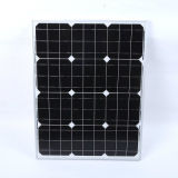 25W 중국 고능률 Monocrystalline PV 태양 모듈