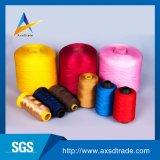 20s~60s를 만드는 단화를 위한 염색된 100 폴리에스테 꿰매는 스레드 뜨개질을 하는 털실