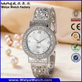 En acier inoxydable ODM Mesdames fashion montre-bracelet occasionnels (WY-P17007B)