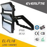 De luz de inundação cinzenta da luz do esporte do diodo emissor de luz 1000W da garantia dos CB do Ce do IEC ENEC anos listados superiores 5