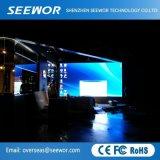 Grand angle de visualisation P6.25mm Indoor LED fixe l'écran avec armoire 500*500mm