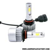 Bulbo dual del kit de la conversión de la linterna H7 del color T5 9005 LED