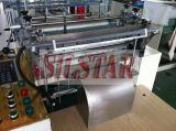 Doppelte Zeilen Plastikhandschuh, der Maschine herstellt