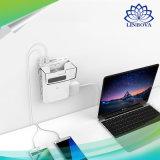 6 Anschluss-Überspannungsableiter-Wand-Aufladeeinheit mit USB-aufladenkanäle 5.2A 4 USB-Ladestation und Telefon-aufladendock
