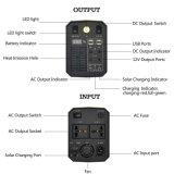 Voiture de l'onduleur accueil Batterie au lithium rechargeable d'alimentation Mobile Système solaire cas AC et de sortie d'entrée CC