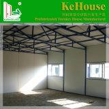 건축 노동자를 위한 강철 프레임 2층 K 유형 Prefabricated 집