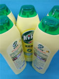 Fácil enxaguar, líquido de limpeza agradável e perfumado do cheiro