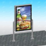 Caixa leve lateral do dobro de alumínio ao ar livre quente do perfil das vendas