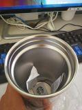 뚜껑 밀짚 차잔 밀짚을%s 가진 휴대용 스포츠 두 배 벽 스테인리스 450ml 500ml 18oz 여행 커피 진공 컵 Thermos 찻잔