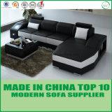 Moderne Hauptmöbel-China-Hersteller-italienisches ledernes Ecksofa