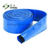Tubo flessibile piano posto PVC flessibile dell'acqua di pressione