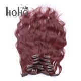 Haut de la qualité Kinky Curly Clip de 20 pouces avec Remy Hair Extension