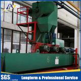 LPGシリンダーショットブラストのクリーニング機械