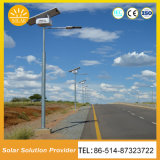 precio de fábrica 8m60W solar al aire libre del alumbrado público iluminación LED Solar