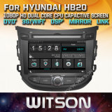 Witson WindowsのヒュンダイHb20の無線のステレオDVDプレイヤー