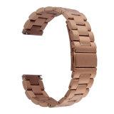 3 Link Hoco banda de la correa de reloj de acero inoxidable para engranajes de acero de Samsung S3