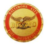 Manufacture de la promotion de l'émail de métal USA drapeau Coin Aucun minimum