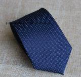 Jacquard de type d'affaires le poly pointille la cravate