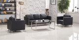 Nuovo sofà rosso della casa del piedino dell'acciaio inossidabile dell'ufficio di svago di stile
