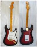 Cadena 6 Strat Guitarra eléctrica Guitarra Aliso sólido