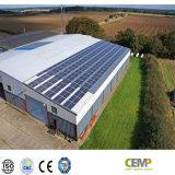 Cemp信頼性が高い等級270Wの太陽電池パネルおよび温室PVシステムの耐久財
